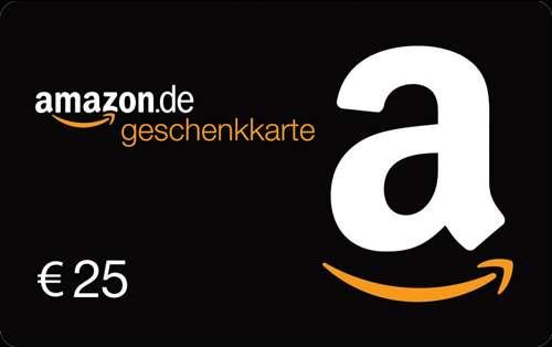 Amazon Gutschein 25 Euro