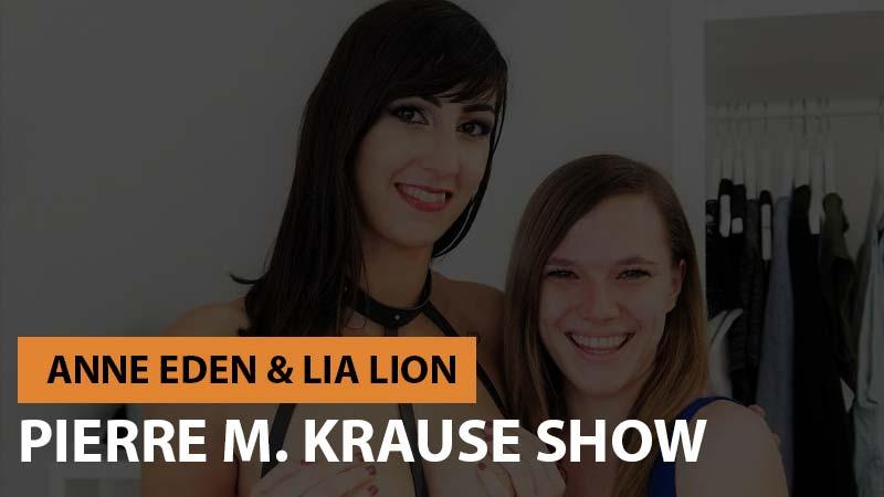 Pierre M. Krause Show mit Lia Lion und Anne Eden