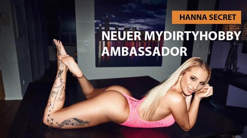 Hanna Secret – MyDirtyHobby Ambassador