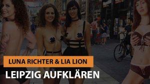 Lia Lion und Luna Richter klären Leipzig auf