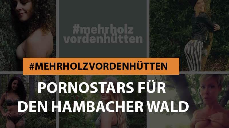 #mehrholzvordenhütten – Körpereinsatz für den Hambacher Wald
