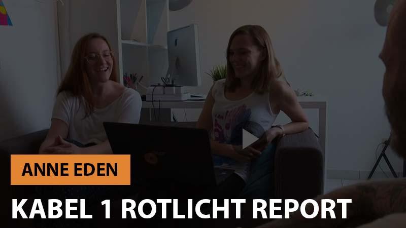 Kabel 1 Rotlicht Report mit Anne Eden und Pornagent