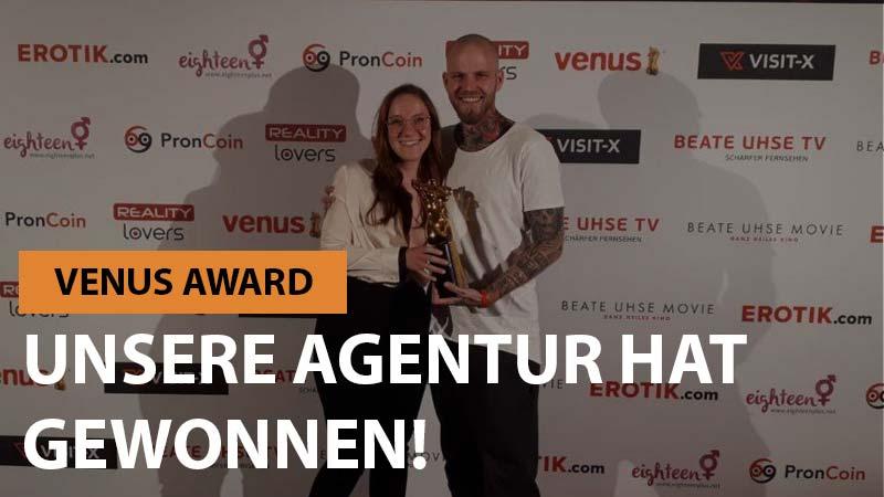 Venus Award 2018: Pornagent gewinnt Juryaward