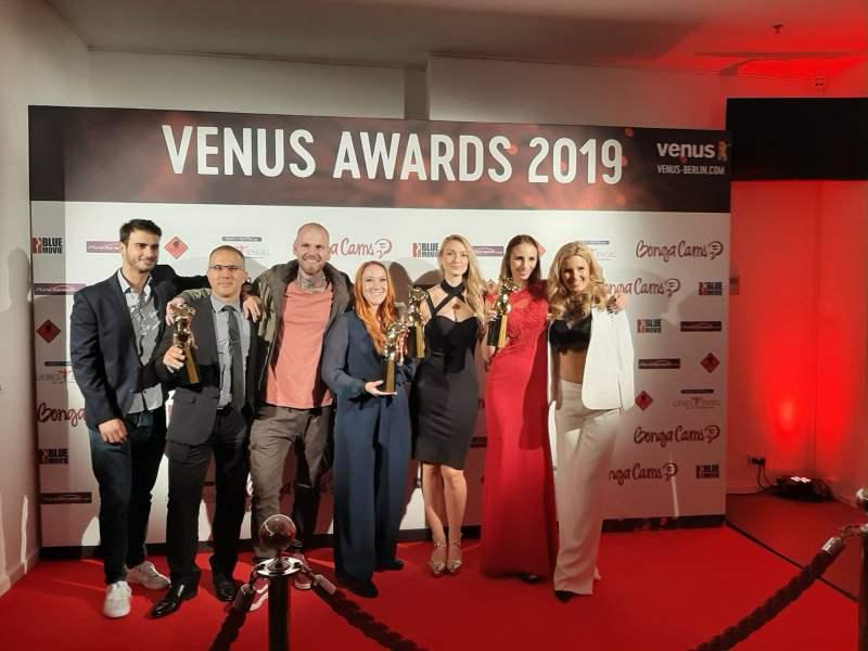 Pornagent ist Gewinner des Venus Award 2019 als Beste Newcomer Marketing und Management Agentur