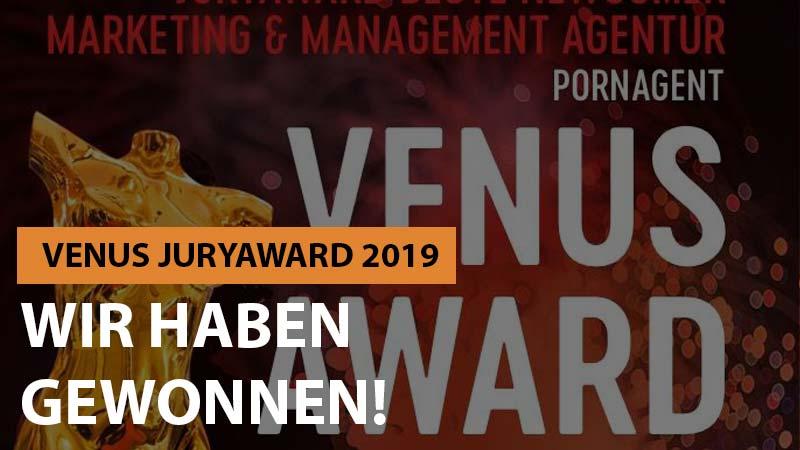 Pornagent gewinnt Venus Award 2019