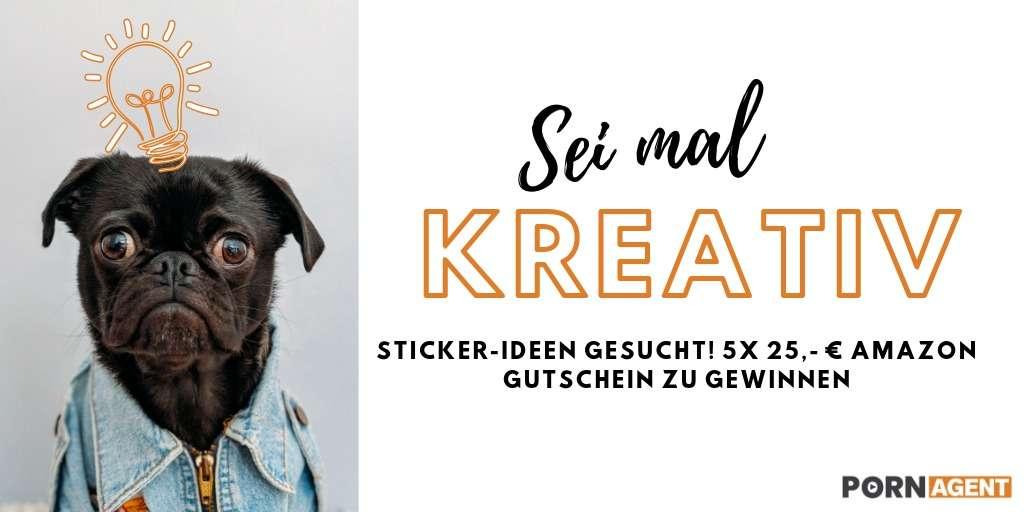 Sticker-Ideen gesucht! 5x 25,- € Amazon Gutschein zu gewinnen